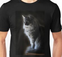 Backlit Kitty Unisex T-Shirt