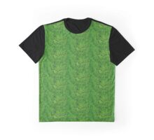 Roll in the Hay in Neon Green Graphic T-Shirt