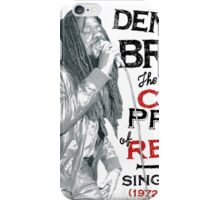 Dannis Brown iPhone Case/Skin