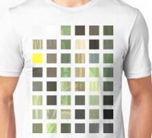 Cactus Garden Abstract Rectangles 2 Unisex T-Shirt