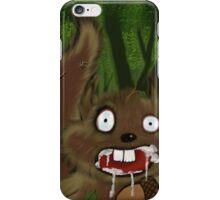 Rabid Squirrel iPhone Case/Skin