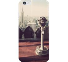 Top of the Rock (Old School) iPhone Case/Skin