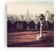 Top of the Rock (Old School) Canvas Print