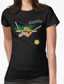 Saturn's Attack on Titan Womens Fitted T-Shirt