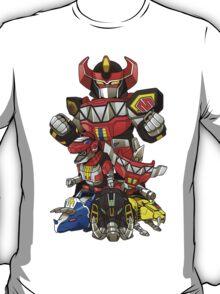 Dinosaur Robots T-Shirt