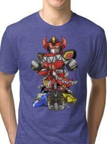 Dinosaur Robots Tri-blend T-Shirt