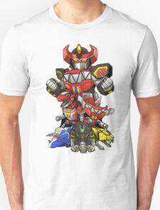 Dinosaur Robots Unisex T-Shirt