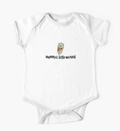 Mommy's Little Wizard One Piece - Short Sleeve
