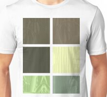 Cactus Garden Abstract Rectangles 1 Unisex T-Shirt