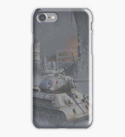 T34 WW2 tank iPhone Case/Skin
