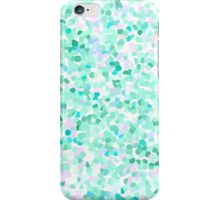 Confetti Seafoam Green iPhone Case/Skin