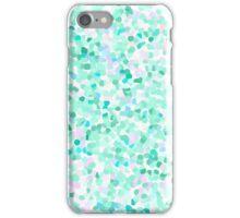 Confetti Seafoam Green iPhone Case/Skin