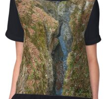 Gorge and a river in the mountains Chiffon Top