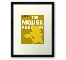 Pikachu: The Mouse Pokemon Framed Print