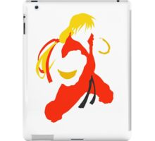 Ken silhouette/cutout (Street fighter) iPad Case/Skin