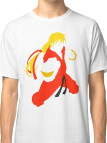 Ken silhouette/cutout (Street fighter) Classic T-Shirt