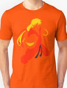 Ken silhouette/cutout (Street fighter) Unisex T-Shirt
