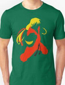 Ken silhouette/cutout (Street fighter) T-Shirt