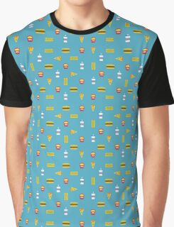 Fast Food Frenzy Graphic T-Shirt