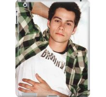 Dylan O'Brien Green Flannel iPad Case/Skin