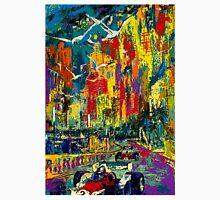 """MONACO GRAND PRIX"" Vintage Auto Racing Painting Print Unisex T-Shirt"
