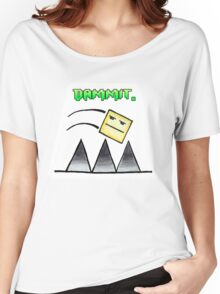 Geometry Dash - Worst Moment Women's Relaxed Fit T-Shirt