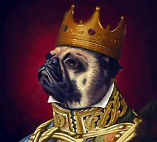 The Pug King by bernardoloyola