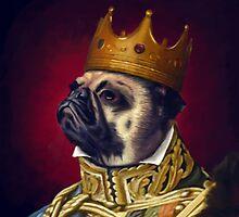 The Pug King by bernardoloyola