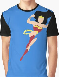 Minimalist Wonder Woman Graphic T-Shirt