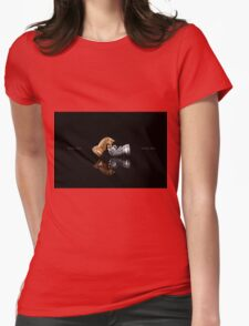 Play Chess Game Womens Fitted T-Shirt
