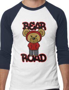 Bear Road (Red) Men's Baseball ¾ T-Shirt