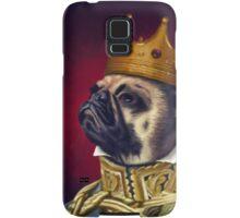 The Pug King Samsung Galaxy Case/Skin