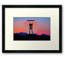 A.T. FIELD - UNIT 01 Framed Print