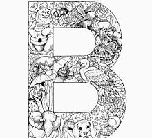 Animal Alphabet Letter B Unisex T-Shirt