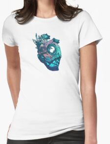 Dishonored - The Heart (Blue) Womens Fitted T-Shirt