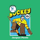 Jacques Plante color variant by thatjessjohnson