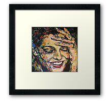 Oh You....Silly Sweetheart Framed Print