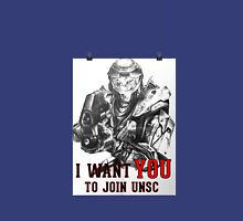 Master Chief - I WANT YOU! Poster Parody Classic T-Shirt