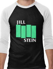 Jill Stein (Black Flag style) Men's Baseball ¾ T-Shirt