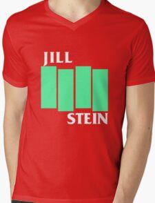 Jill Stein (Black Flag style) Mens V-Neck T-Shirt