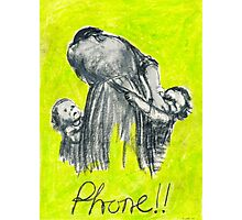 Phone!! Photographic Print