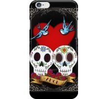 Love Skulls iPhone Case/Skin