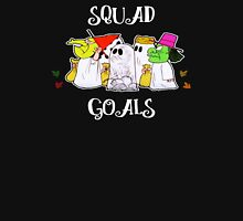 Squad Goals in White Unisex T-Shirt