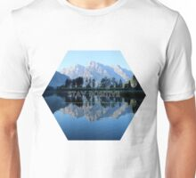 Stay Positive, photo of the aurora borealis Unisex T-Shirt