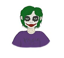 Lil' Joker Photographic Print