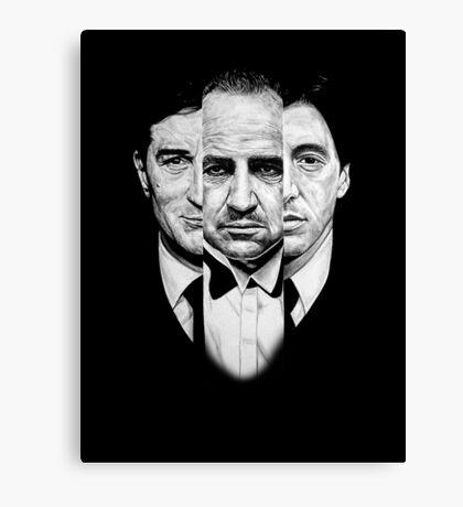 Trilogy - Godfather Canvas Print