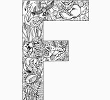 Animal Alphabet Letter F Unisex T-Shirt