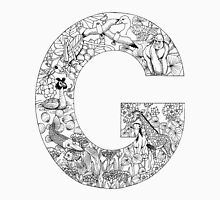 Animal Alphabet Letter G Unisex T-Shirt