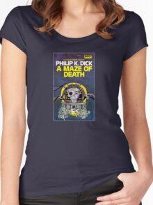 A Maze of Death Women's Fitted Scoop T-Shirt