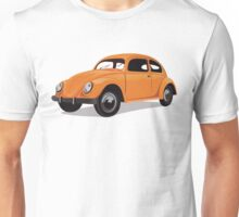 Volkswagen Bug Orange Unisex T-Shirt